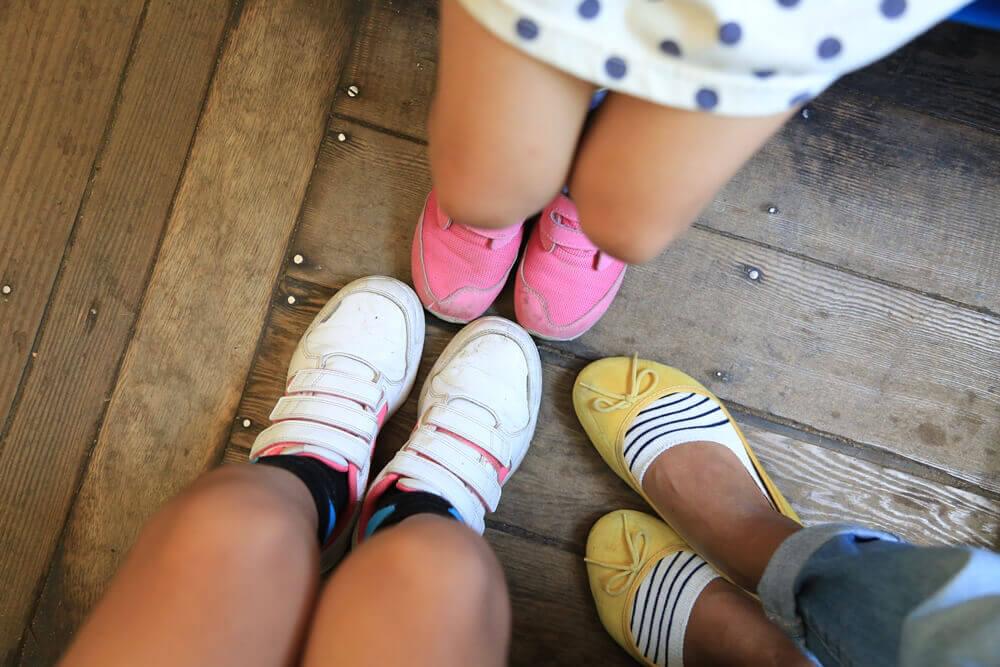 その日に履いていた靴