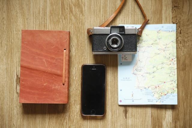 スマホとデジタルカメラ