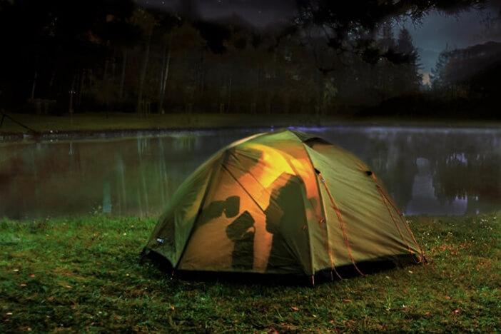 夜の光をロマンチックに撮影