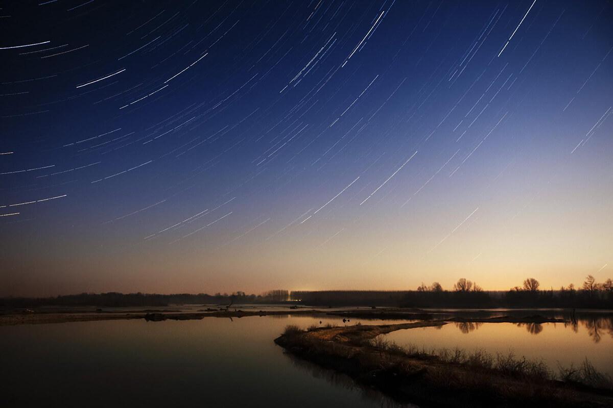 流れる星の軌跡を撮影しよう!
