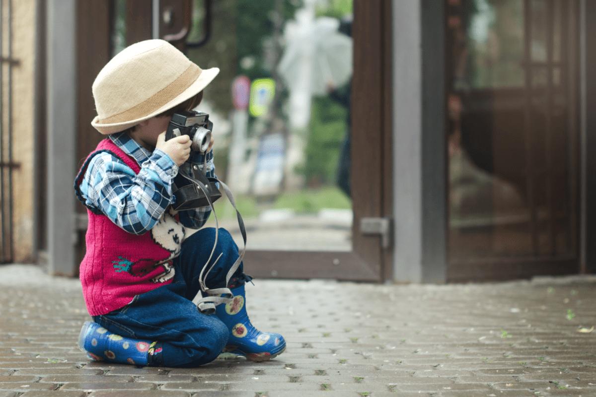 おしゃれ撮影テクニック1:視点を変える