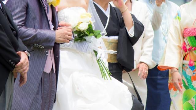 少人数婚・家族婚におすすめのショット①|ファミリーショット
