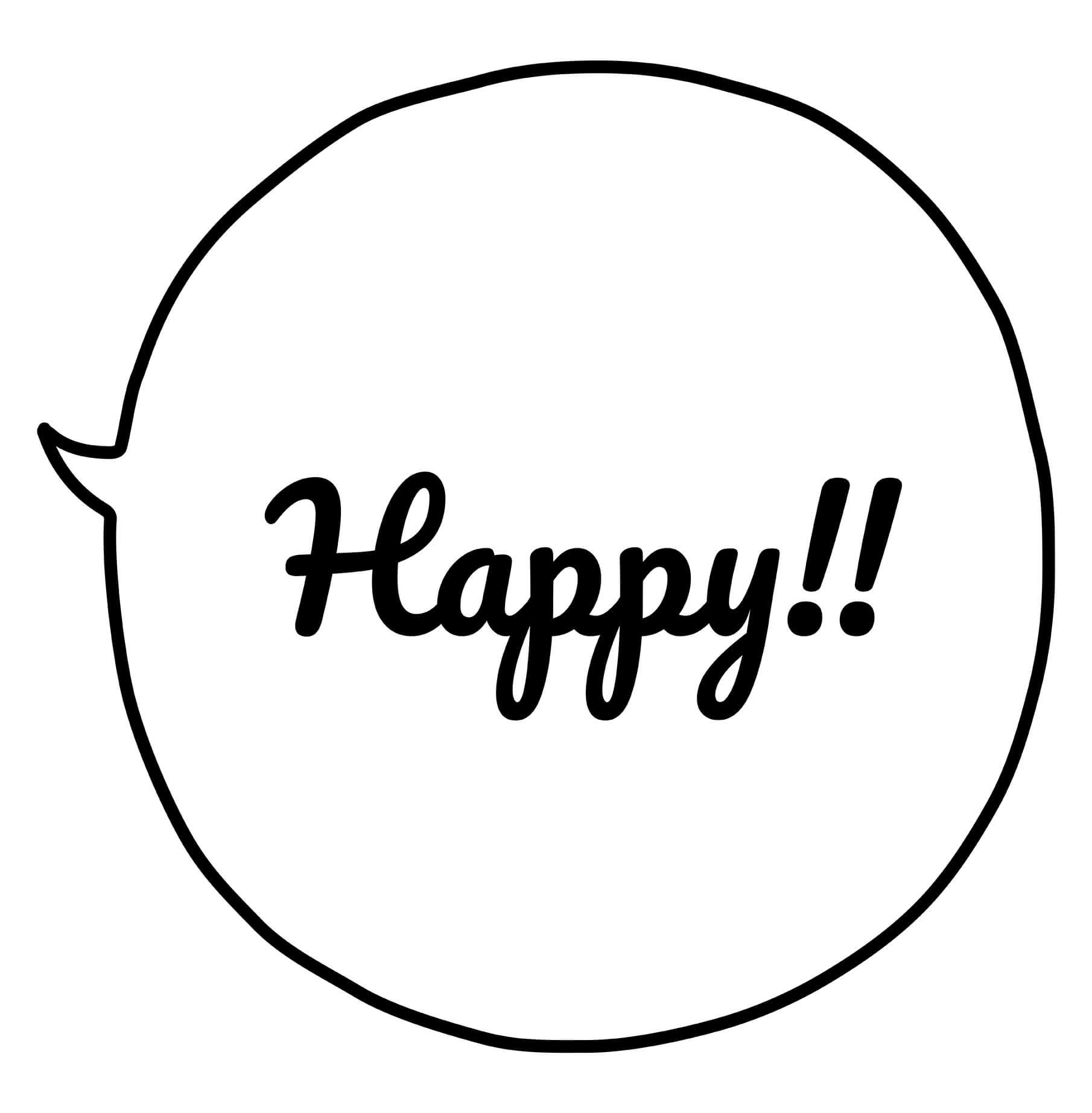 Happy!①