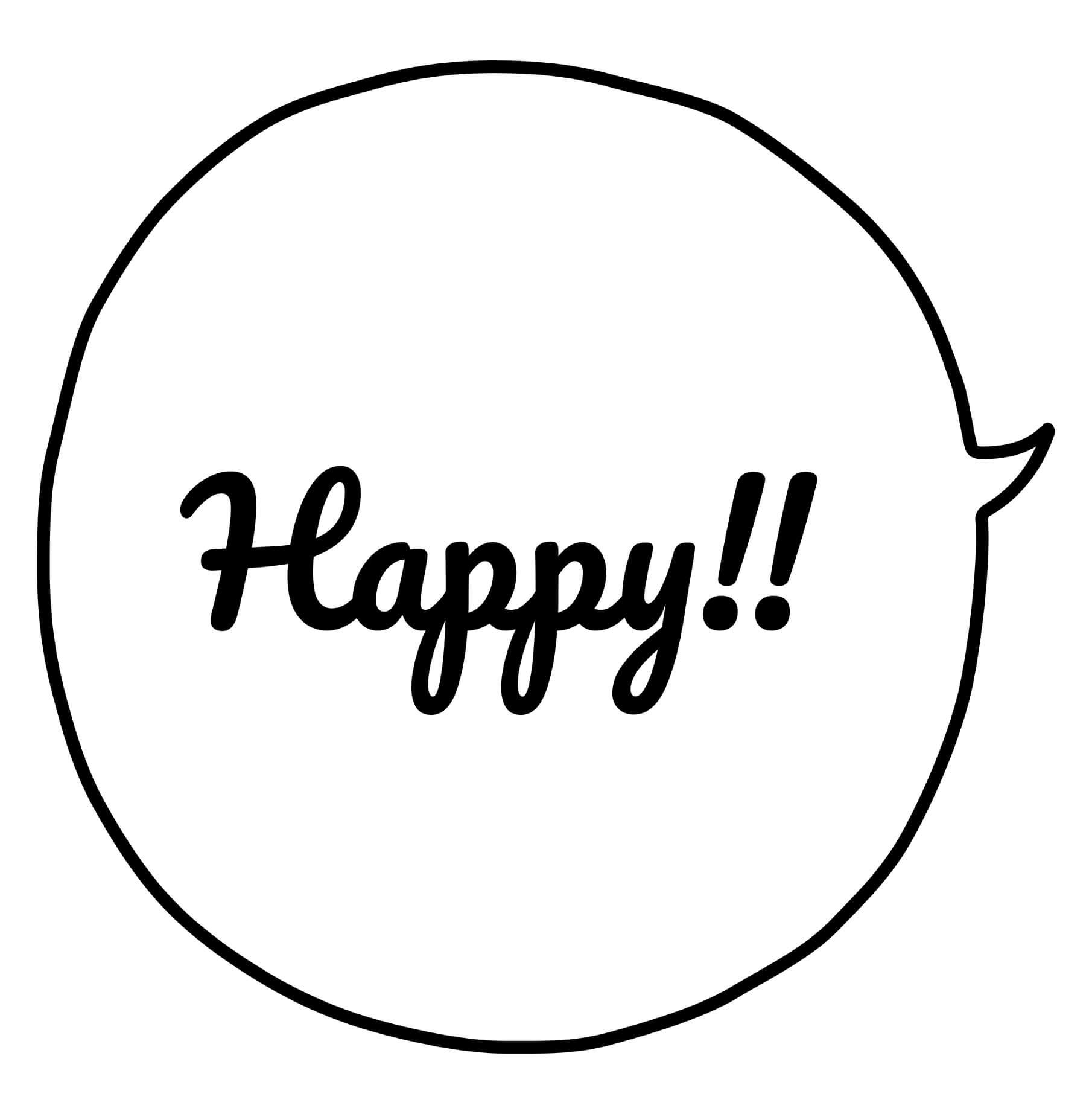 Happy!②