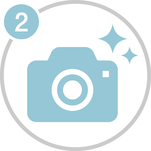 ②投稿テーマ「わたしの大切な時間」写真を探す。