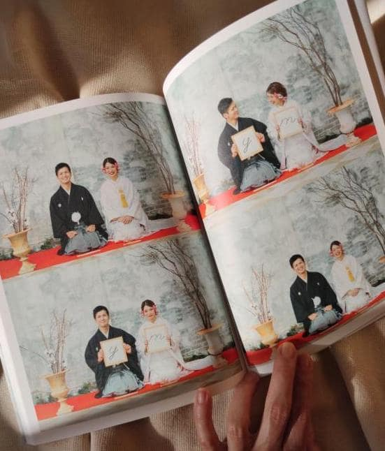 フォトウェディング写真にも大活躍♡コスパ抜群の結婚アルバム