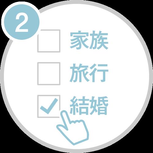 登録までの3ステップ